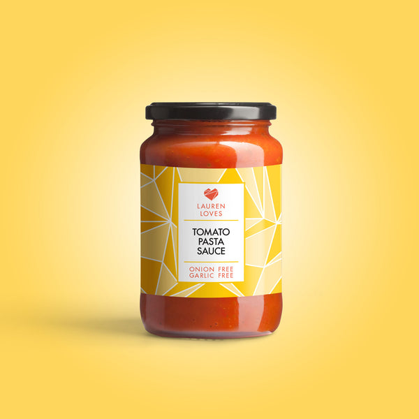 Lauren Loves Low FODMAP Tomato Pasta Sauce