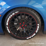 ColorRims Vinyl Wheel Stripe Decals Kit