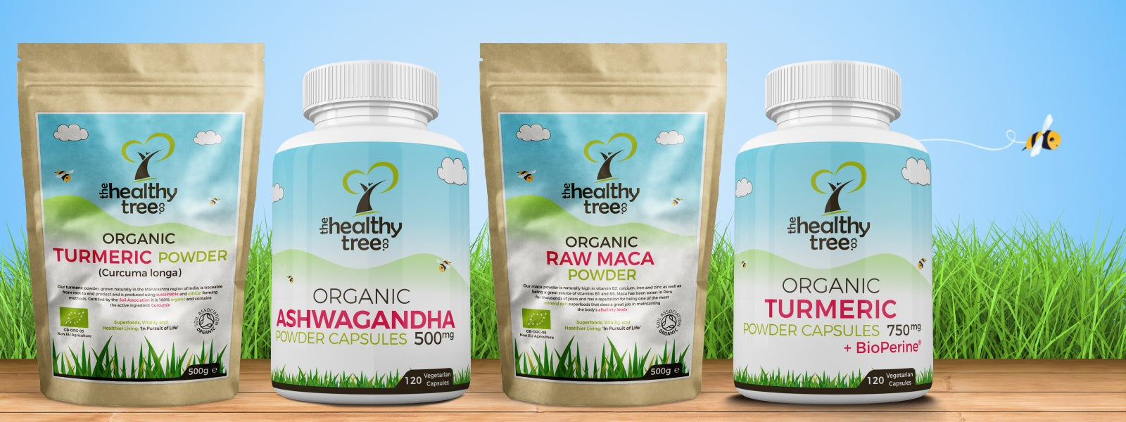 TheHealthyTree Company Organic Superfoods