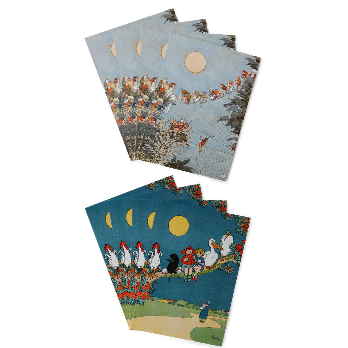 Notecard Pack -Fairy & Peter Quip