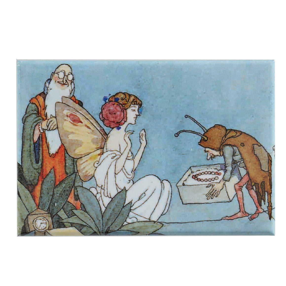 Fridge Magnet - Fairy Receiving Gift