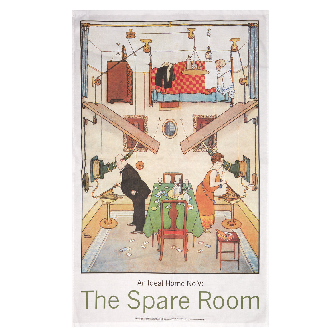 Tea Towel - The Spare Room