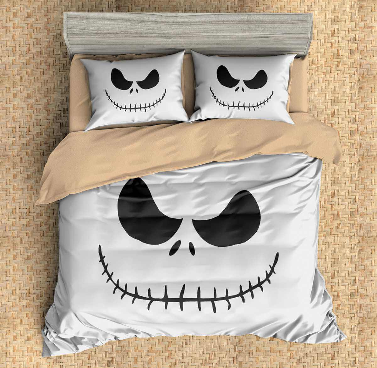 3d customize the nightmare before christmas bedding set duvet cover set bedroom set bedlinen - Nightmare Before Christmas Bedding Queen