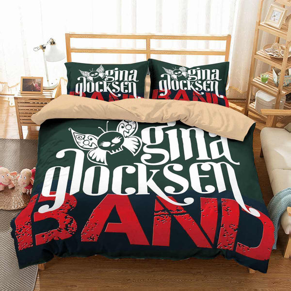 3D Customize Gina Glocksen Band Bedding Set Duvet Cover Set Bedroom Set Bedlinen