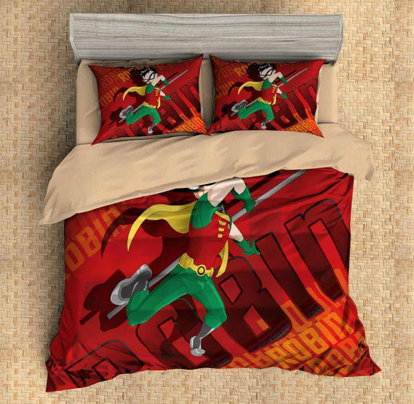 3D Customize Teen Titans Bedding Set Duvet Cover Set Bedroom Set Bedlinen