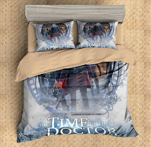 3D Customize Doctor Who Bedding Set Duvet Cover Set Bedroom Set Bedlinen