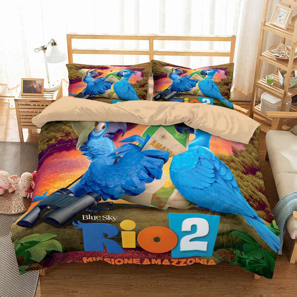 3D Customize Rio Bedding Set Duvet Cover Set Bedroom Set Bedlinen
