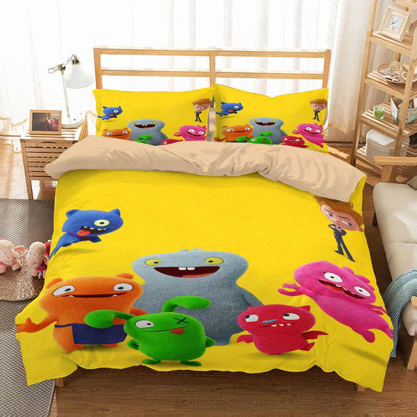 3D Customize UglyDolls Bedding Set Duvet Cover Set Bedroom Set Bedlinen