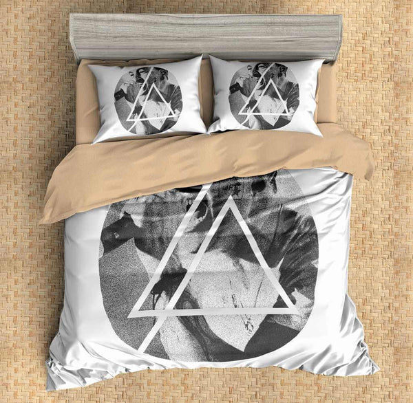3D Customize Chester Bennington Linkin Park Bedding Set Duvet Cover Set Bedroom Set Bedlinen