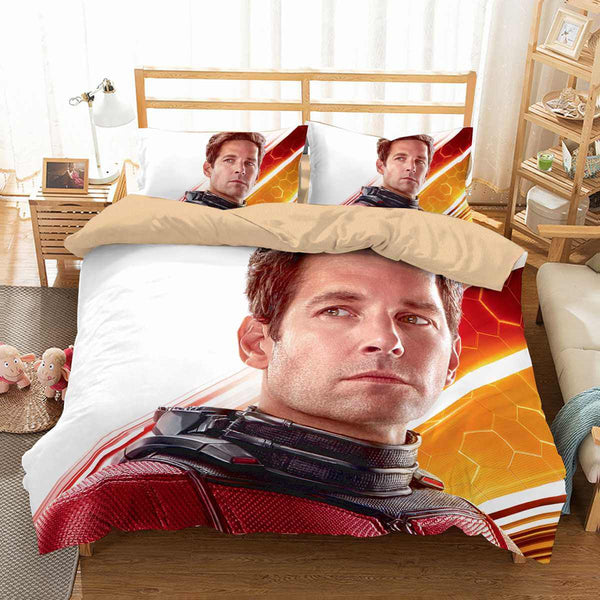 3D Customize Ant Man And The Wasp Bedding Set Duvet Cover Set Bedroom Set Bedlinen - Three Lemons Hometextile