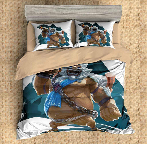 3D Customize The Legend of Zelda Breath of the Wild Bedding Set Duvet Cover Set Bedroom Set Bedlinen