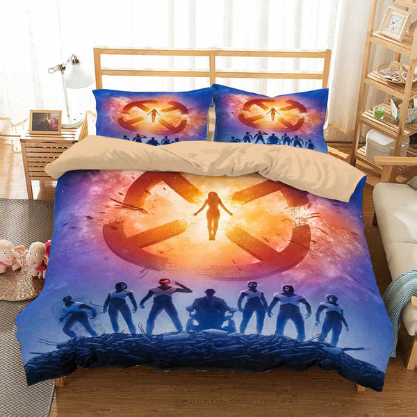 3D Customize X-Men Dark Phoenix Bedding Set Duvet Cover Set Bedroom Set Bedlinen
