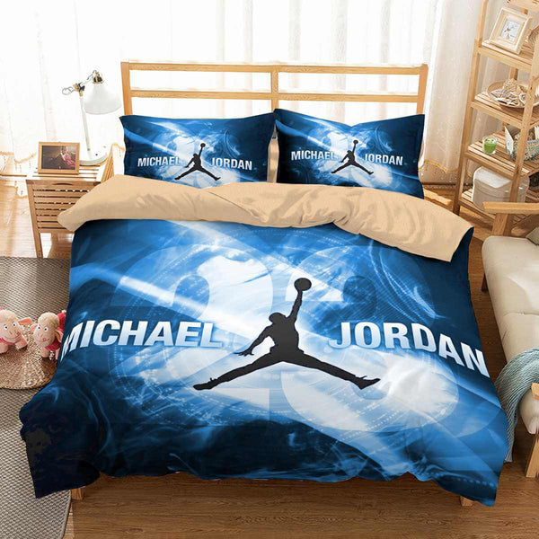 3d Customize Michael Jordan Bedding Set Duvet Cover Set