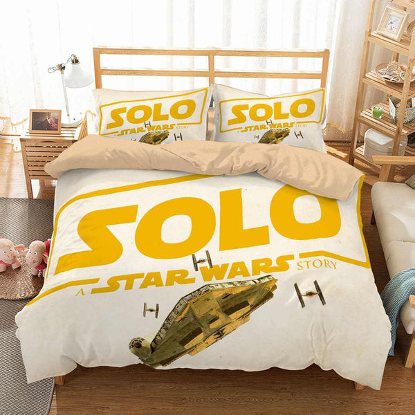 3D Customize Solo A Star Wars Story Bedding Set Duvet Cover Set Bedroom Set Bedlinen