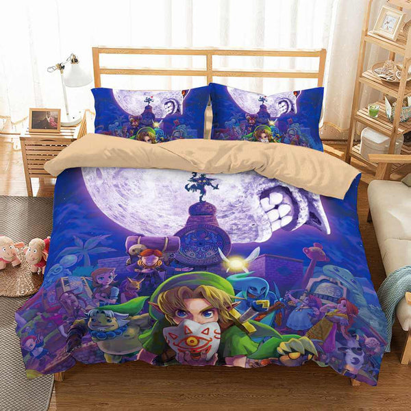 3D Customize Legend Of Zelda Bedding Set Duvet Cover Set Bedroom Set Bedlinen