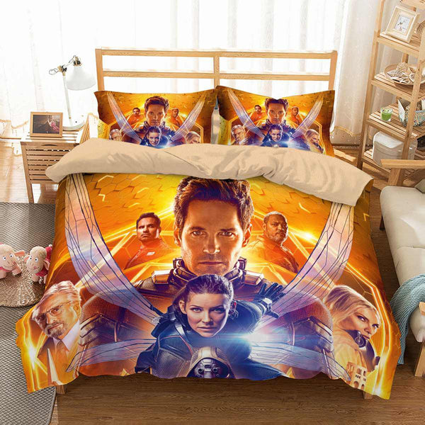 3D Customize Ant-Man and the Wasp Bedding Set Duvet Cover Set Bedroom Set Bedlinen - Three Lemons Hometextile