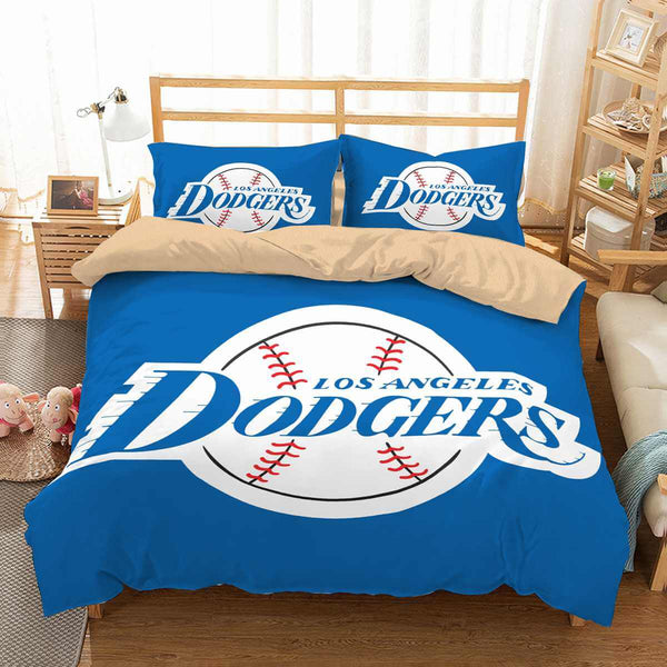 3D Customize Los Angeles Dodgers Bedding Set Duvet Cover Set Bedroom Set Bedlinen