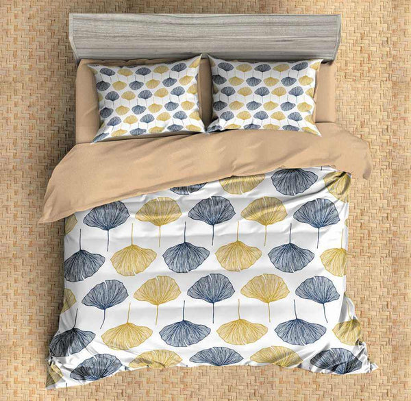 3D Customize Leaves Bedding Set Duvet Cover Set Bedroom Set Bedlinen