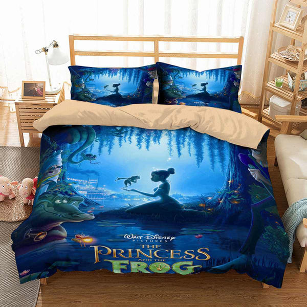 3d Customize The Princess And The Frog Bedding Set Duvet Cover Set Bedroom Set Bedlinen