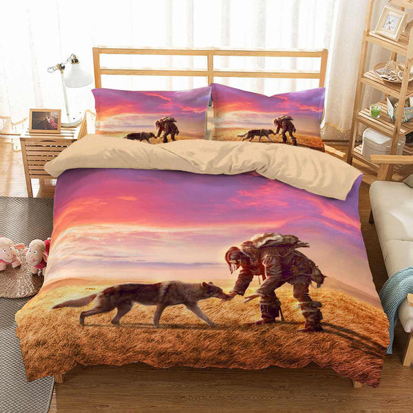 3D Customize Alpha Bedding Set Duvet Cover Set Bedroom Set Bedlinen - Three Lemons Hometextile