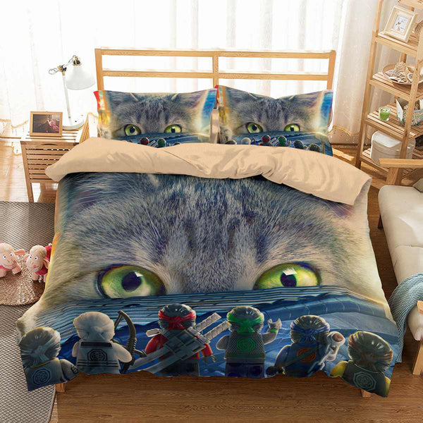 3D Customize The Lego Ninjago Bedding Set Duvet Cover Set Bedroom Set Bedlinen