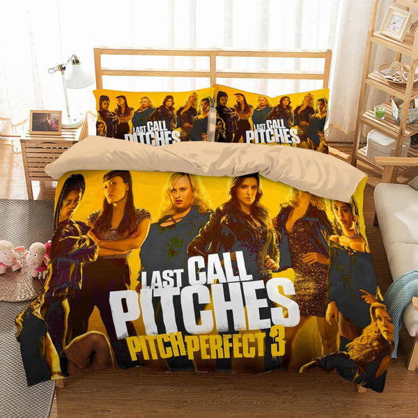 3D Customize Pitch Perfect 3 Bedding Set Duvet Cover Set Bedroom Set Bedlinen