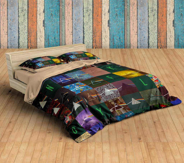 3D Customize Pink Floyd Bedding Set Duvet Cover Set Bedroom Set Bedlinen