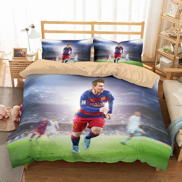 3d Customize Lionel Messi Bedding Set Duvet Cover Set