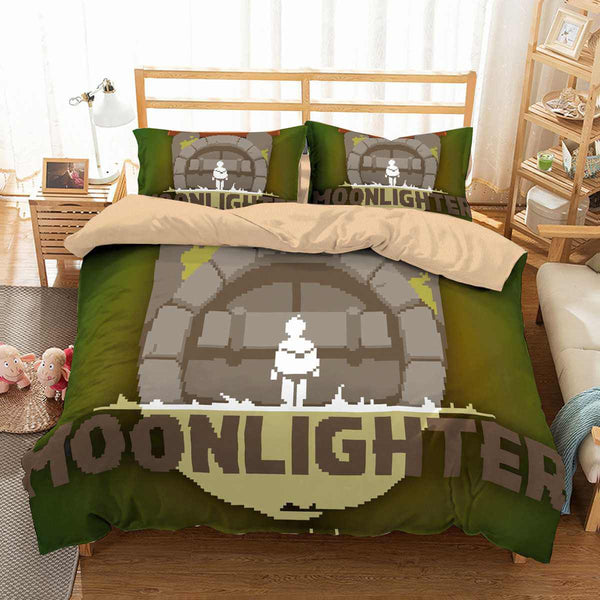 3D Customize Moonlighter Bedding Set Duvet Cover Set Bedroom Set Bedlinen