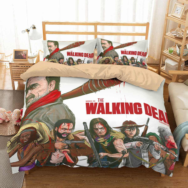 3D Customize The Walking Dead Bedding Set Duvet Cover Set Bedroom Set Bedlinen