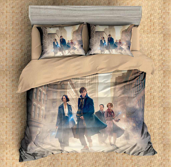 3D Customize Fantastic Beasts Bedding Set Duvet Cover Set Bedroom Set Bedlinen