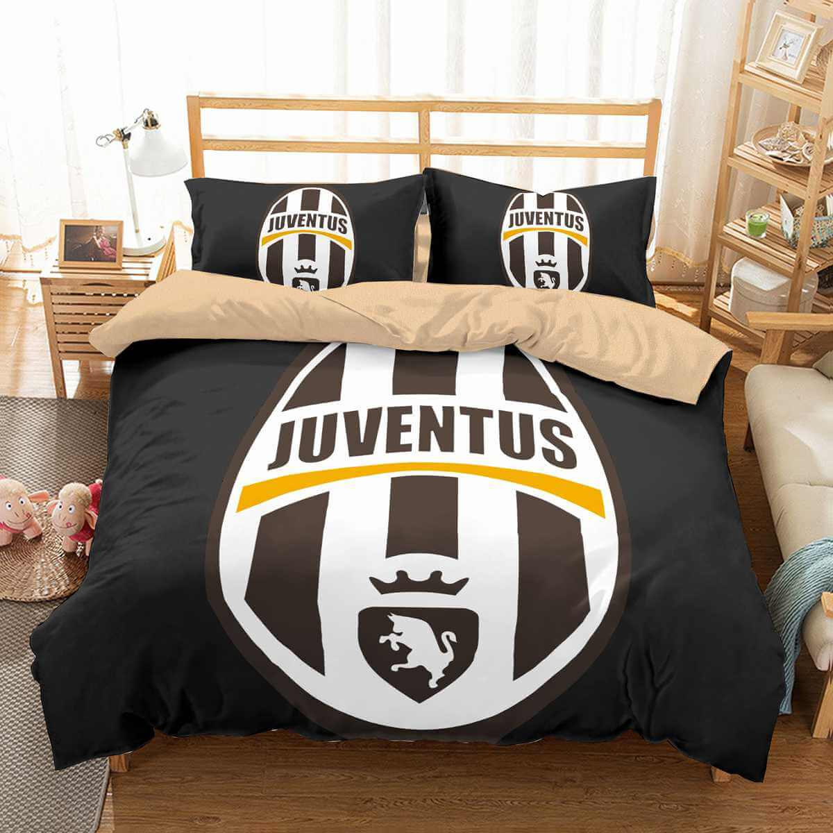3d Customize Juventus Bedding Set Duvet Cover Set Bedroom Set Bedlinen Three Lemons Hometextile