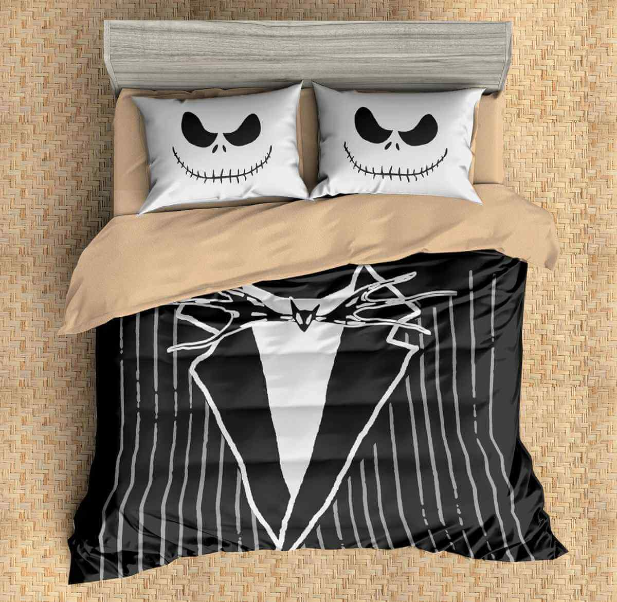3D Bedding Set The Nightmare Before Christmas Duvet Cover Set 3PCS ...