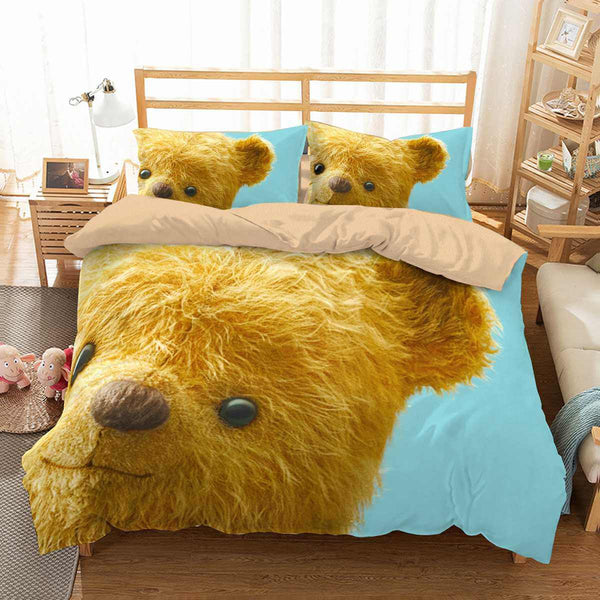 3D Customize Christopher Robin Bedding Set Duvet Cover Set Bedroom Set Bedlinen
