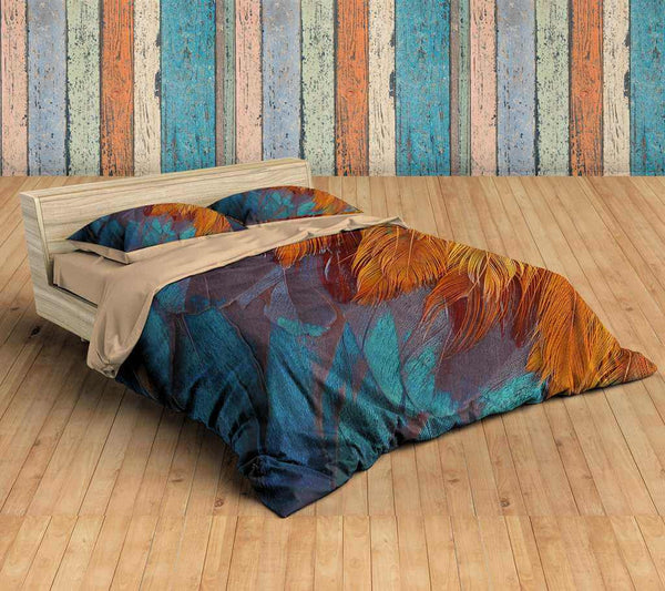3D Customize Feathers Bedding Set Duvet Cover Set Bedroom Set Bedlinen
