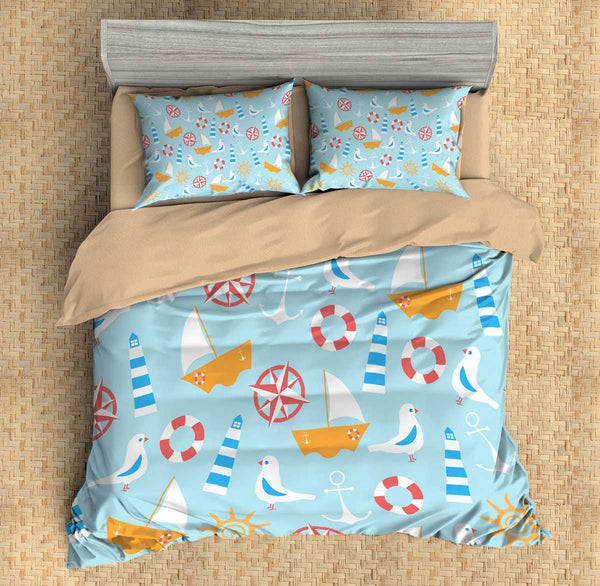 3D Customize Ocean Bedding Set Duvet Cover Set Bedroom Set Bedlinen
