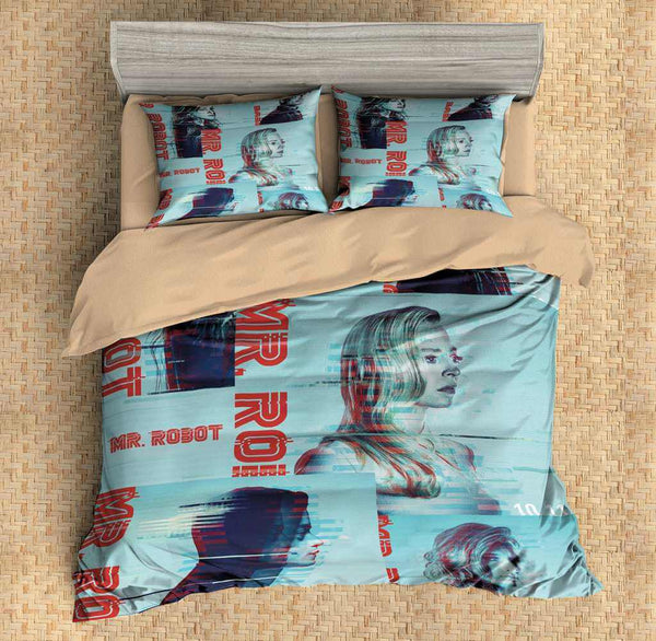 3D Customize Mr Robot Bedding Set Duvet Cover Set Bedroom Set Bedlinen