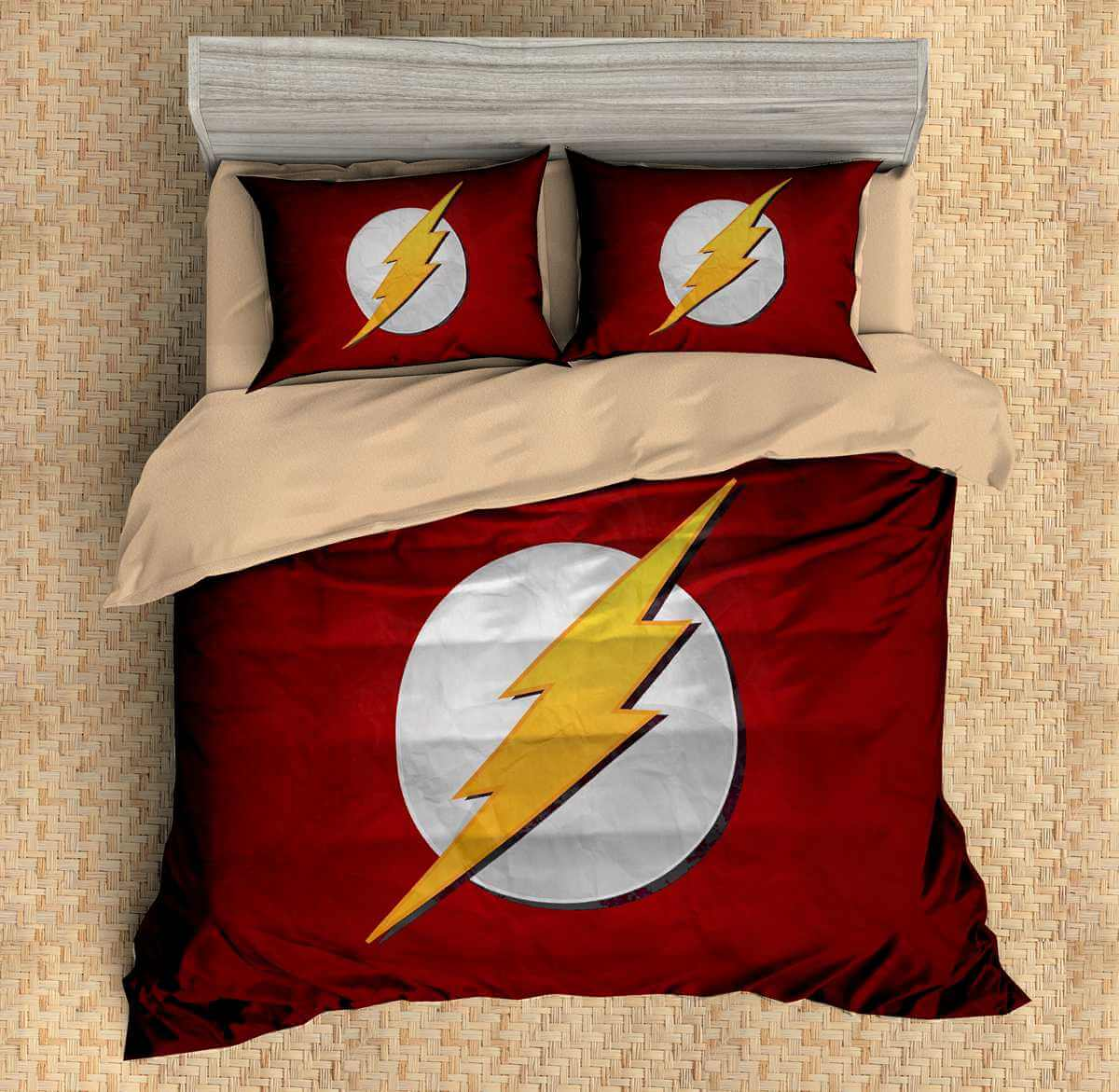 3d Customize The Flash Bedding Set Duvet Cover Set Bedroom