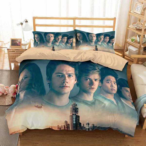 3D Customize Maze Runner The Death Cure Bedding Set Duvet Cover Set Bedroom Set Bedlinen