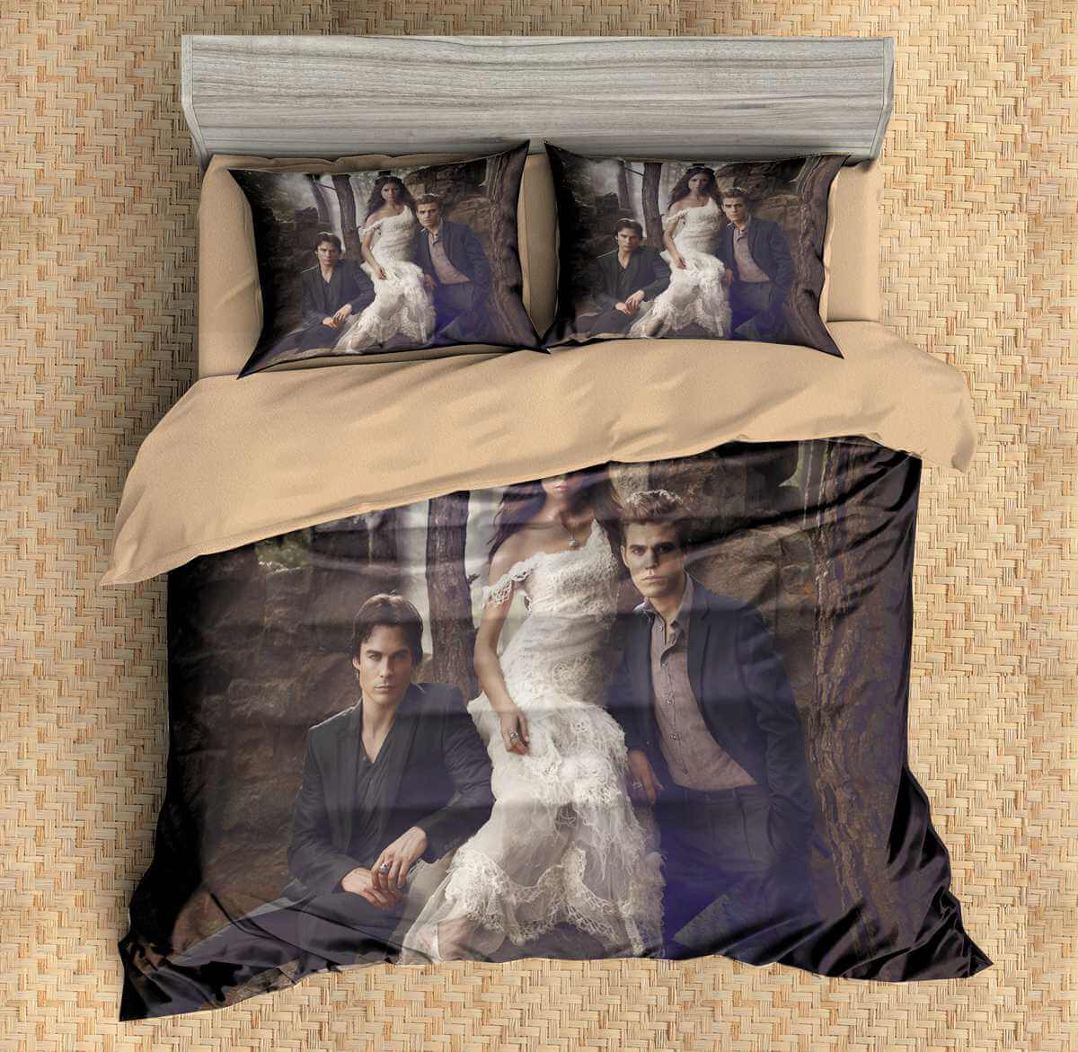 3d Customize The Vampire Diaries Bedding Set Duvet Cover