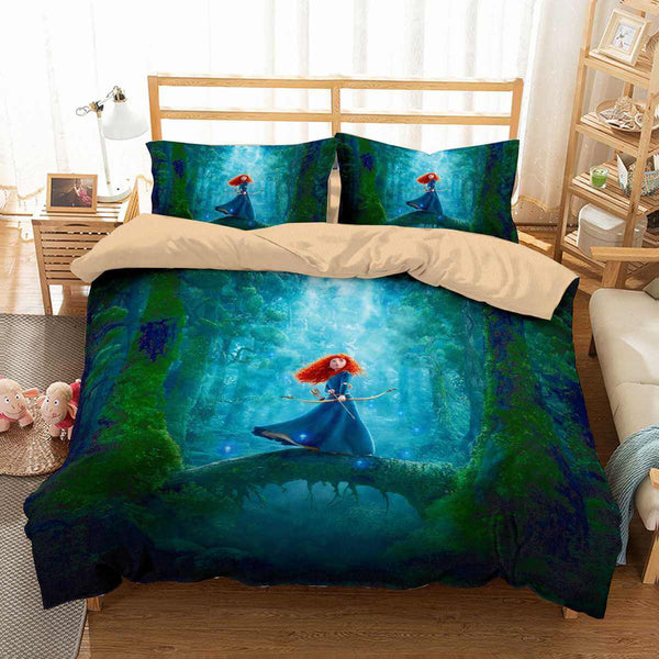 3D Customize Brave Bedding Set Duvet Cover Set Bedroom Set Bedlinen
