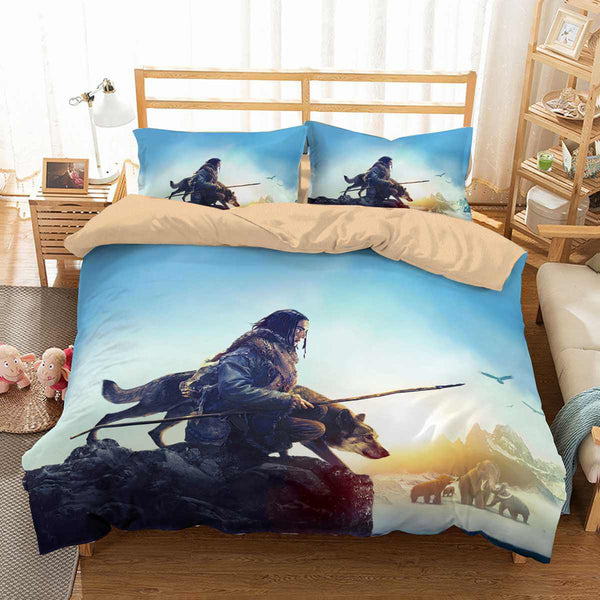 3D Customize Alpha Movie 2018 Bedding Set Duvet Cover Set Bedroom Set Bedlinen - Three Lemons Hometextile