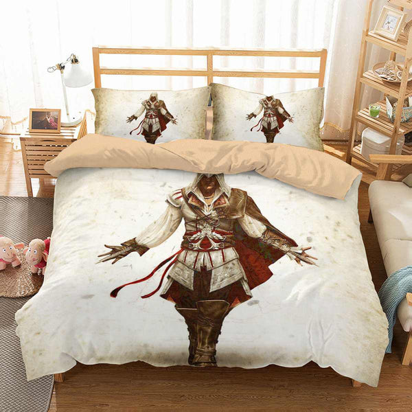 3D Customize Assassin's Creed Bedding Set Duvet Cover Set Bedroom Set Bedlinen - Three Lemons Hometextile