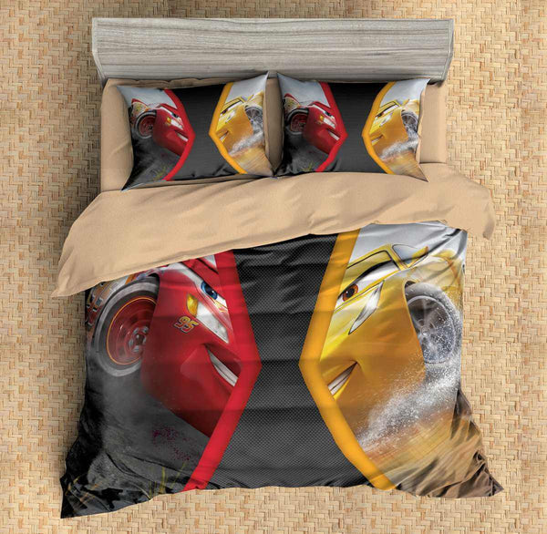 3D Customize Cars 3 Bedding Set Duvet Cover Set Bedroom Set Bedlinen