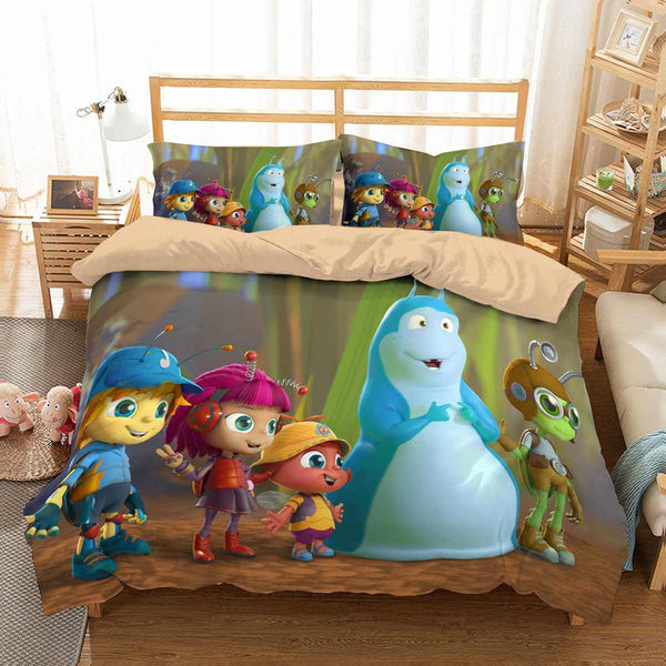 3D Customize Beat Bugs Bedding Set Duvet Cover Set Bedroom Set Bedlinen - Three Lemons Hometextile