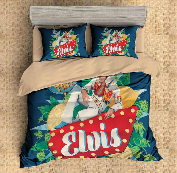 3D Customize Elvis Presley Bedding Set Duvet Cover Set Bedroom Set Bedlinen