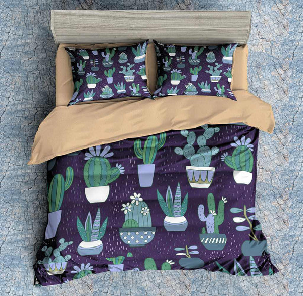 3D Customize Cactus Bedding Set Duvet Cover Set Bedroom Set Bedlinen