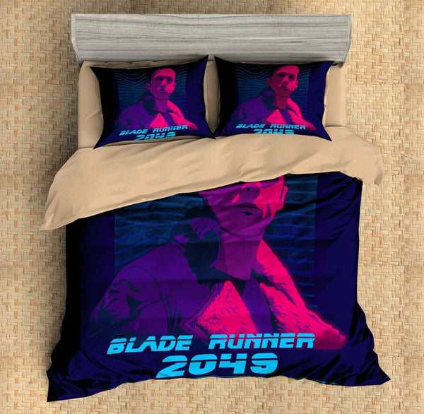 3D Customize Blade Runner 2049 Bedding Set Duvet Cover Set Bedroom Set Bedlinen - Three Lemons Hometextile