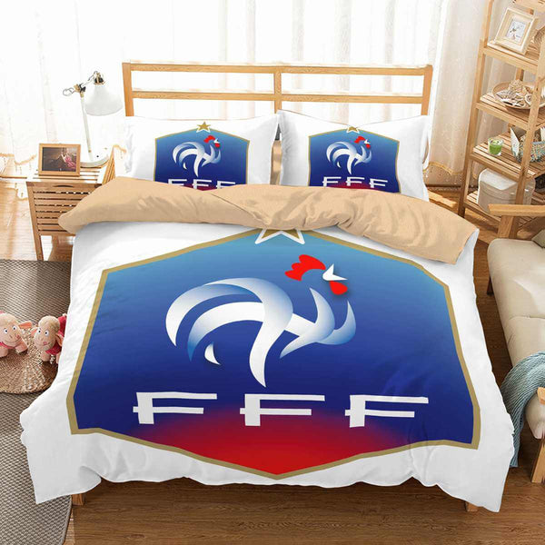 3D Customize FIFA World Cup Russia 2018 France Bedding Set Duvet Cover Set Bedroom Set Bedlinen