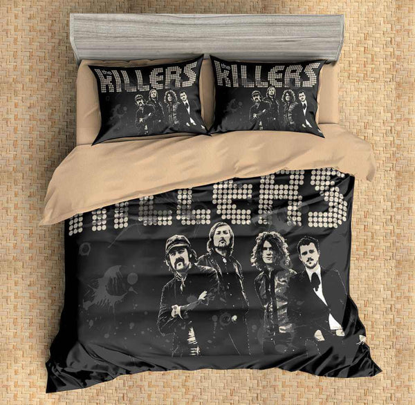 3D Customize The Killers Bedding Set Duvet Cover Set Bedroom Set Bedlinen